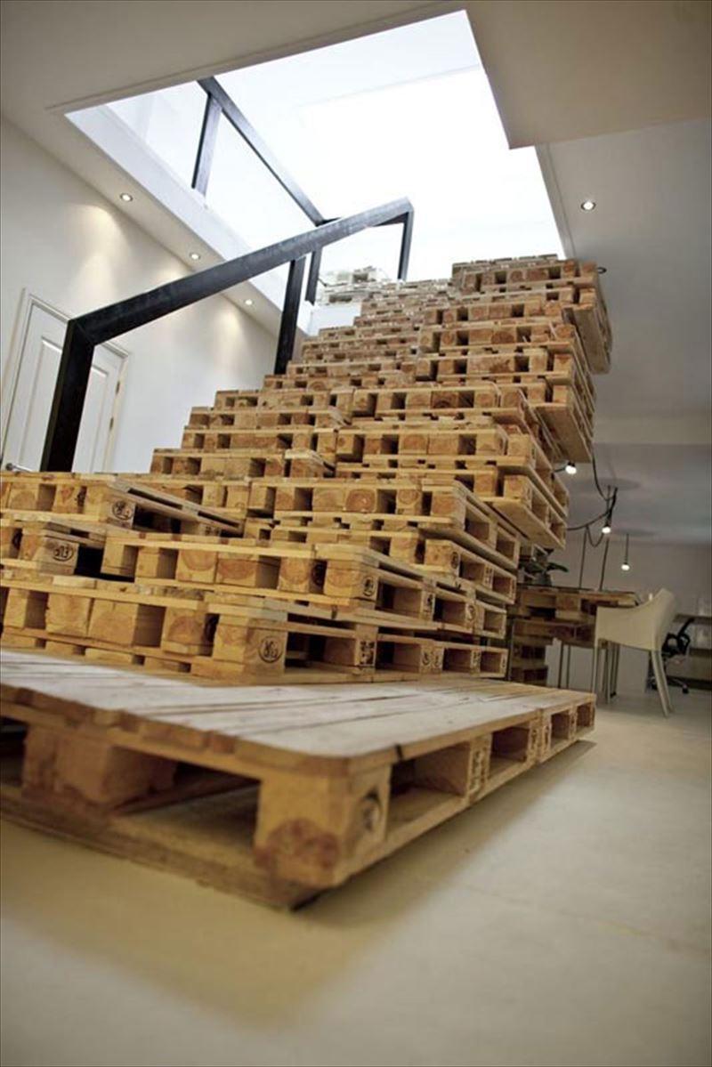 おしゃれで変わったかっこいい階段001