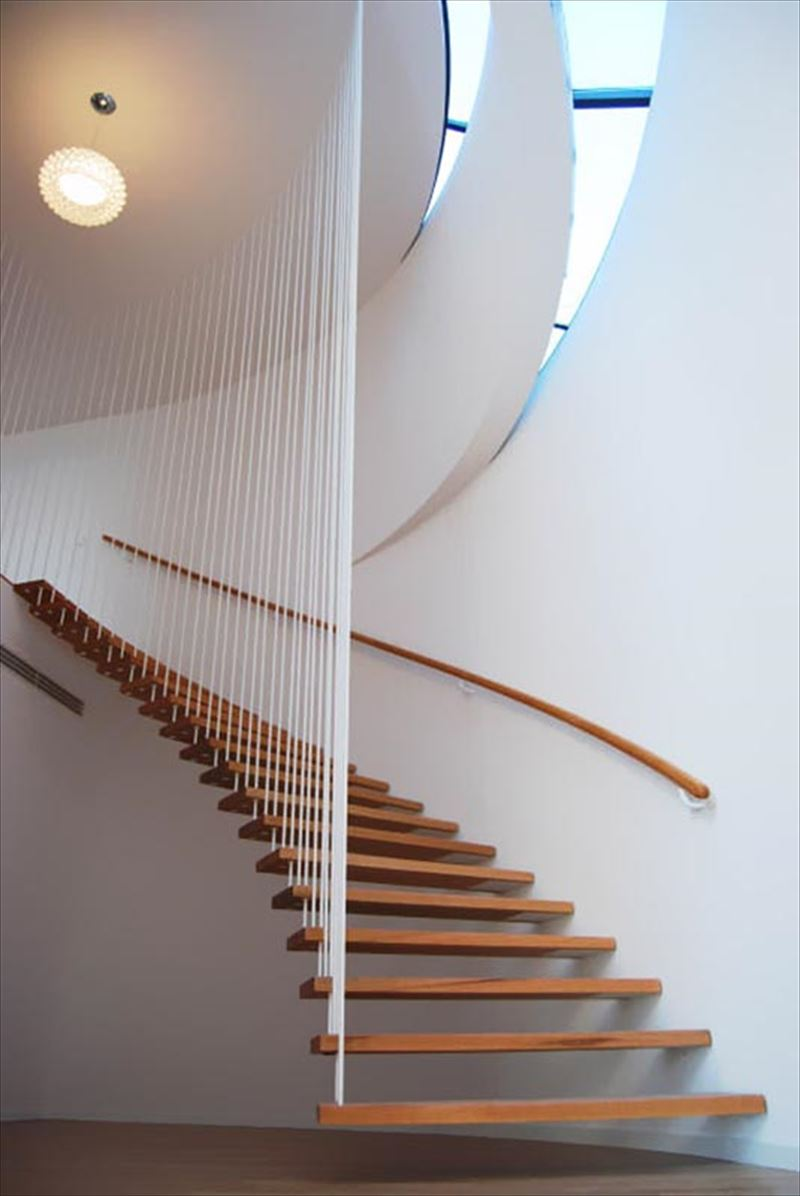 おしゃれで変わったかっこいい階段002
