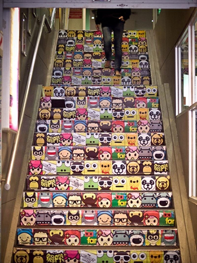 おしゃれで変わったかっこいい階段011