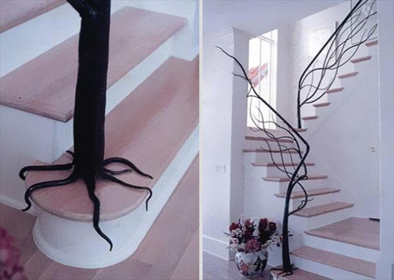 おしゃれで変わったかっこいい階段012
