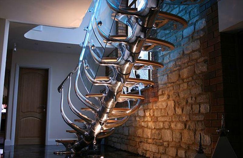 おしゃれで変わったかっこいい階段014