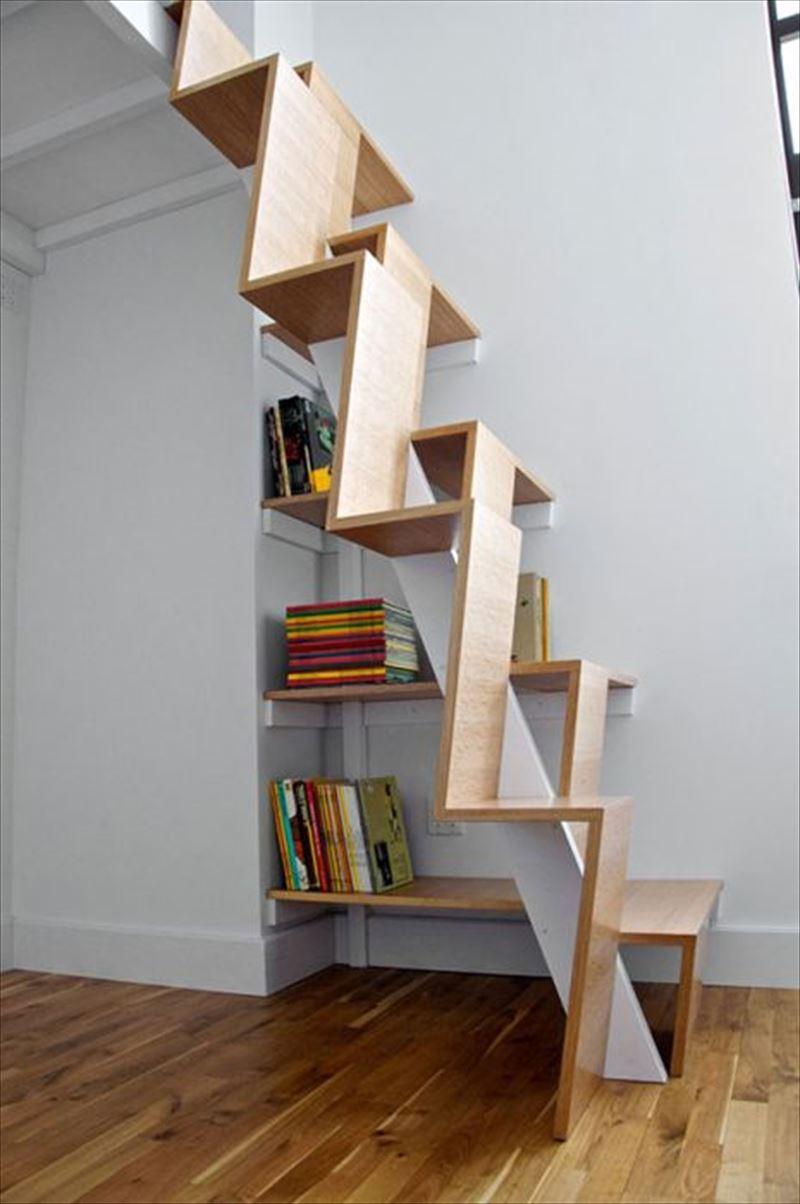 おしゃれで変わったかっこいい階段015