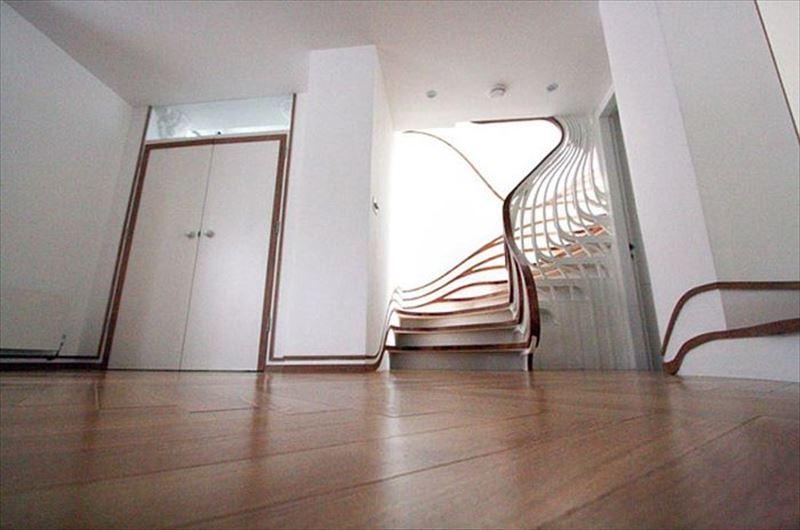 おしゃれで変わったかっこいい階段028