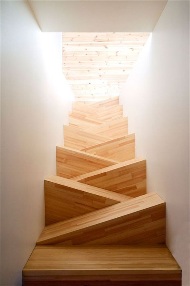 おしゃれで変わったかっこいい階段042