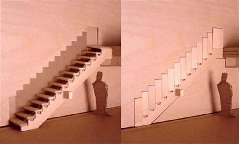 おしゃれで変わったかっこいい階段066