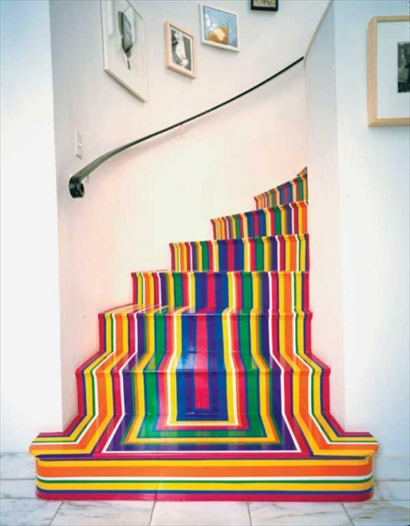 おしゃれで変わったかっこいい階段070