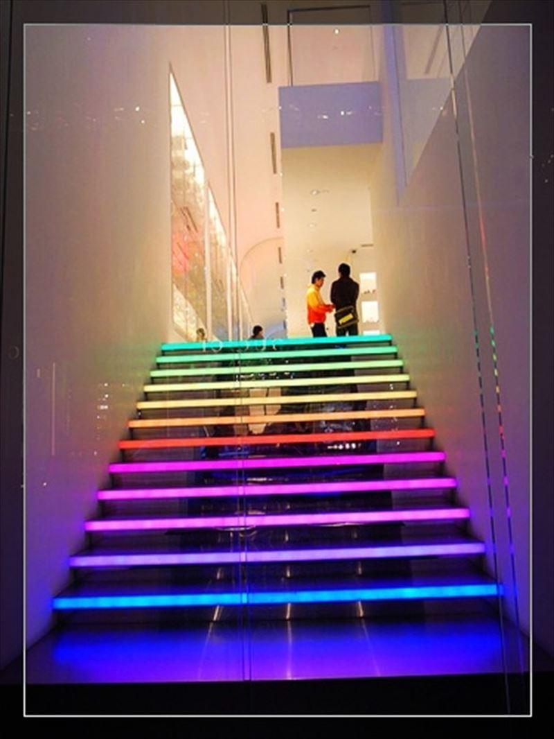 おしゃれで変わったかっこいい階段072