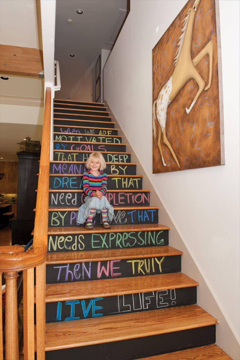 おしゃれで変わったかっこいい階段074