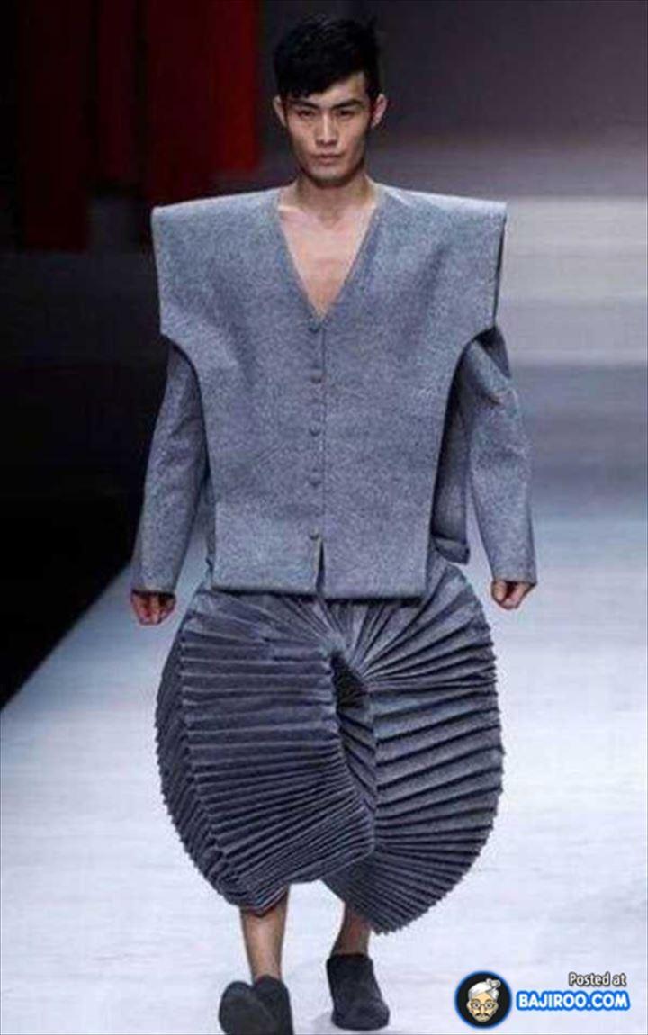 【閲覧注意】もはや服ではない?攻めすぎたファッション集