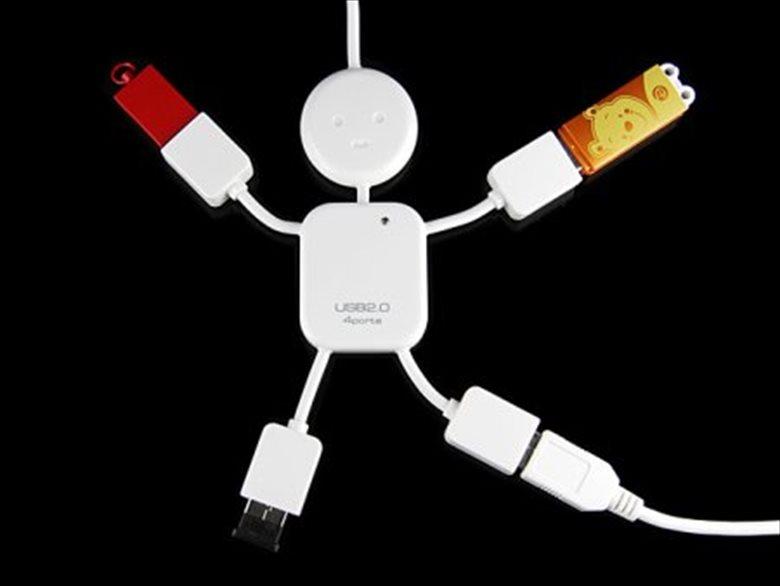 USBハブ113
