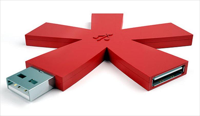 USBハブ17