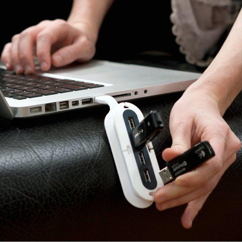 USBハブ23