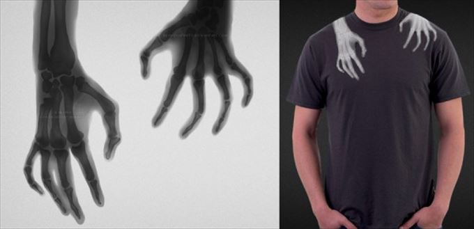 変わったTシャツ0