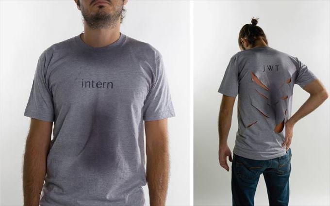変わったTシャツ16
