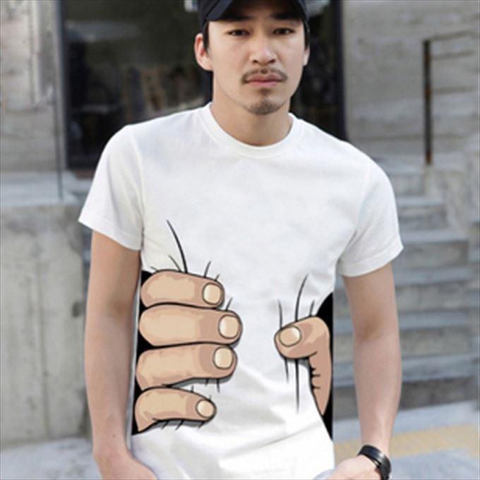 変わったTシャツ20