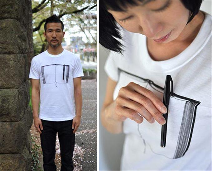変わったTシャツ21