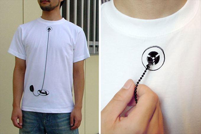 変わったTシャツ22