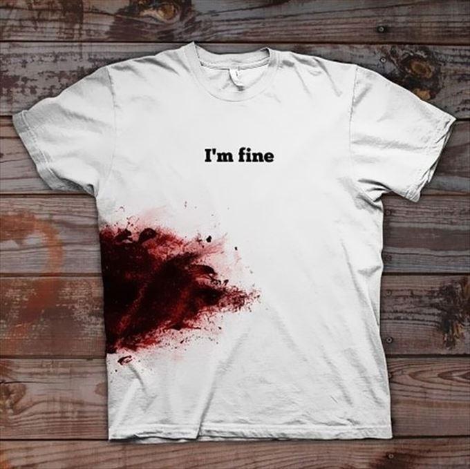変わったTシャツ32