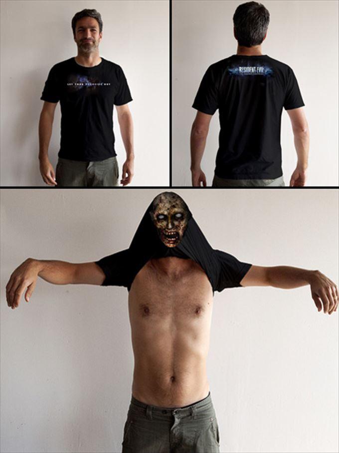 変わったTシャツ51