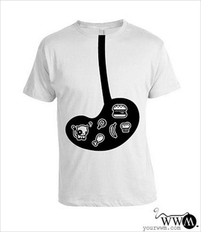 変わったTシャツ54