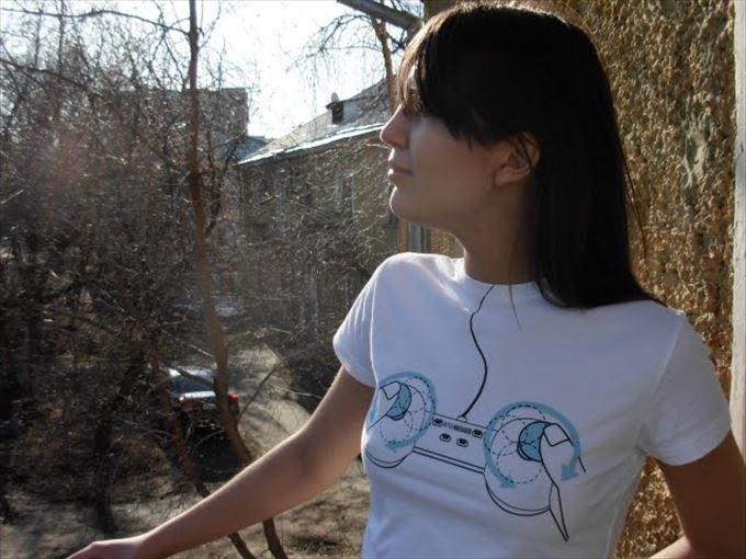 変わったTシャツ6