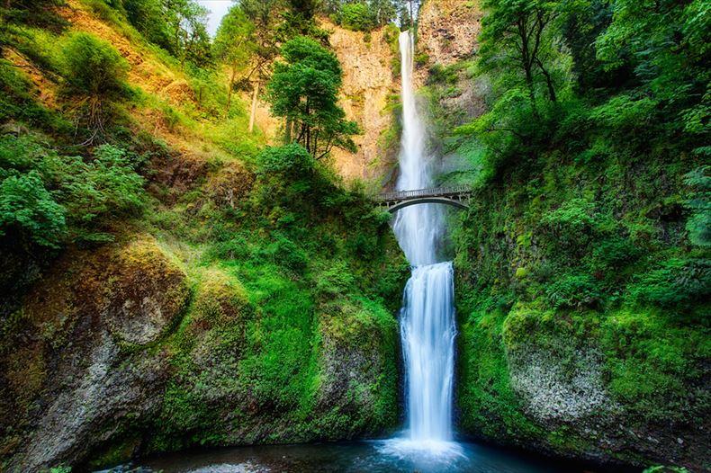 美しい滝画像 1
