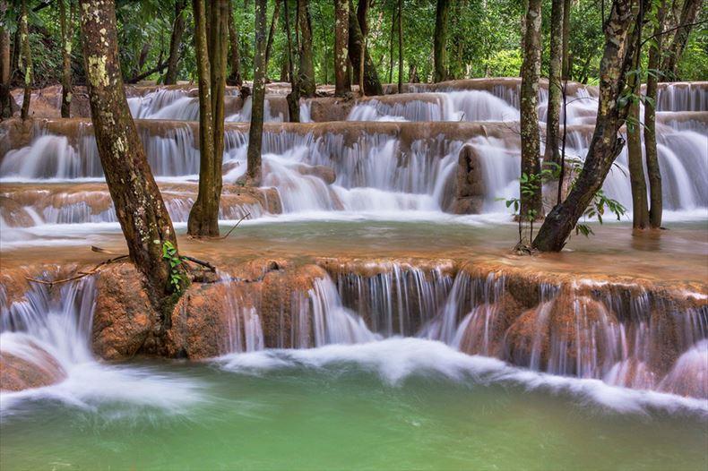 美しい滝画像 11