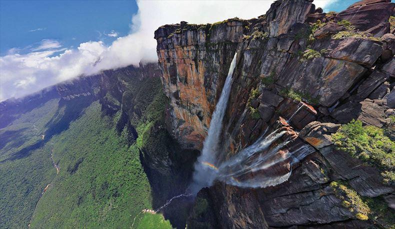 美しい滝画像 20