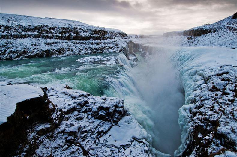 美しい滝画像 22
