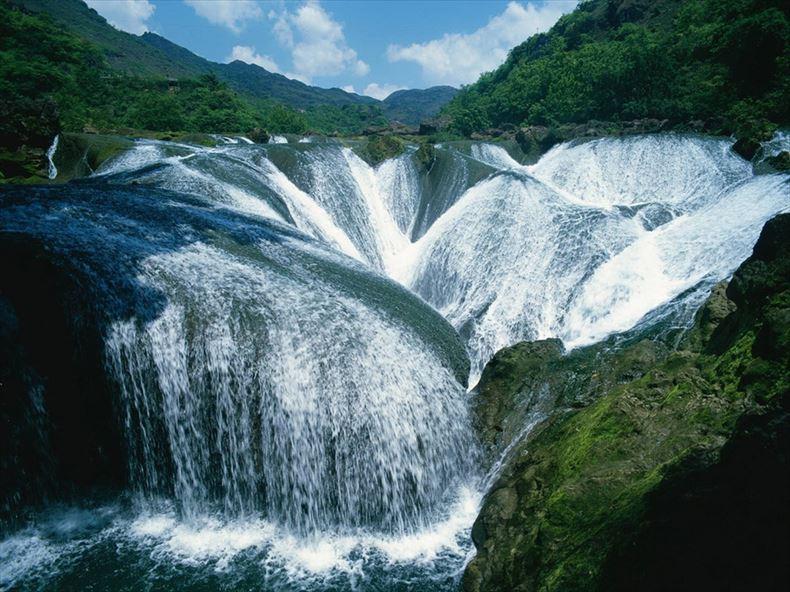 美しい滝画像 24