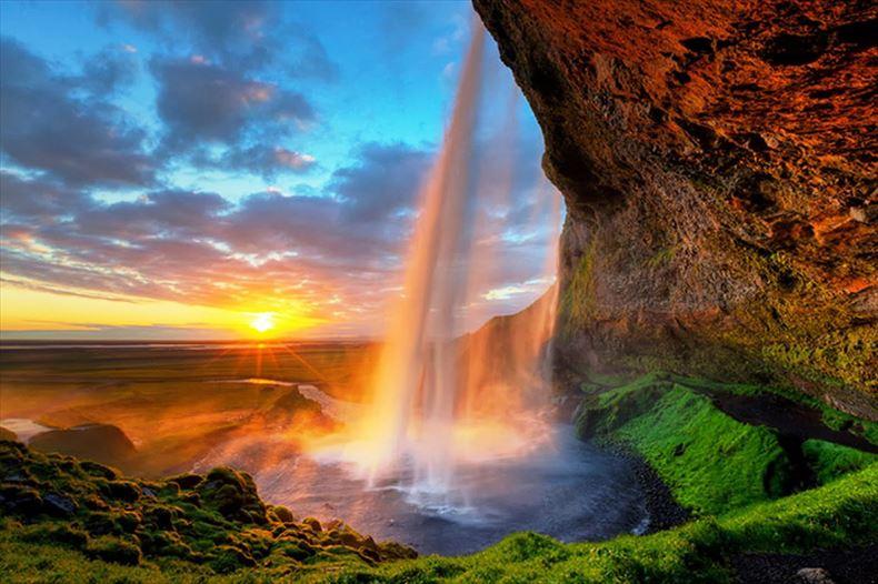 美しい滝画像 6