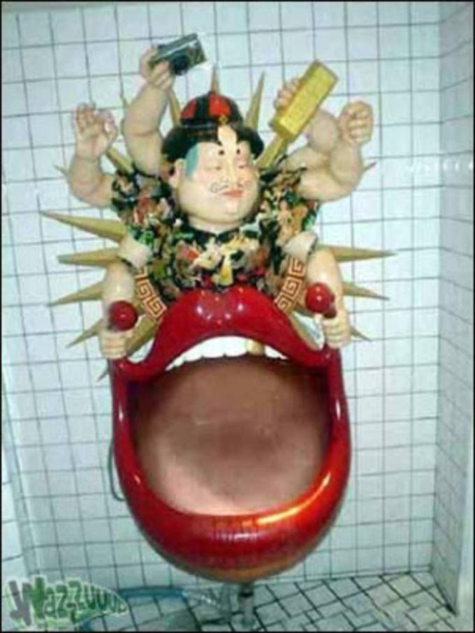 世界の変わったトイレ36