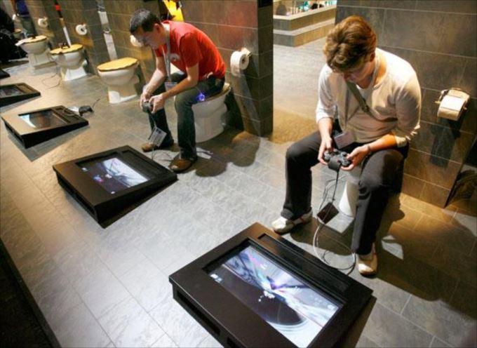 世界の変わったトイレ42