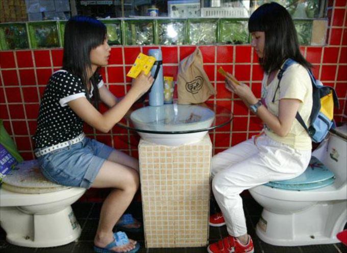 世界の変わったトイレ45