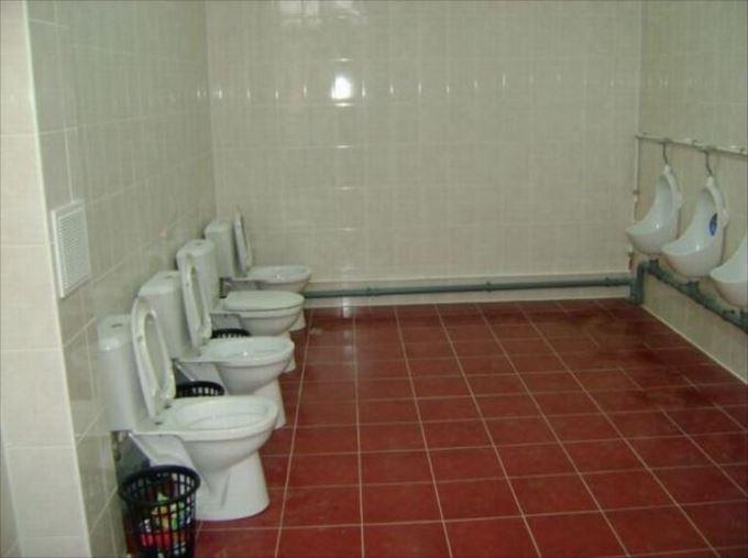 世界の変わったトイレ47