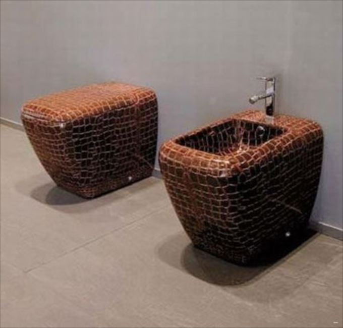 世界の変わったトイレ48