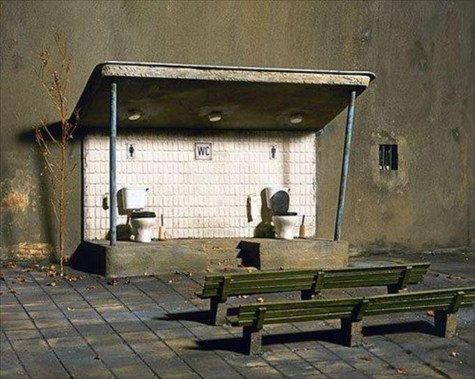 世界の変わったトイレ51