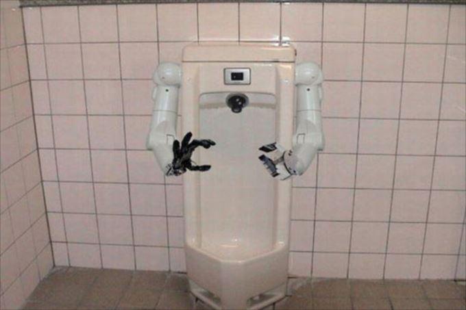 世界の変わったトイレ63