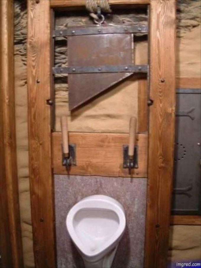 世界の変わったトイレ71