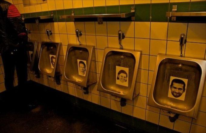 世界の変わったトイレ76