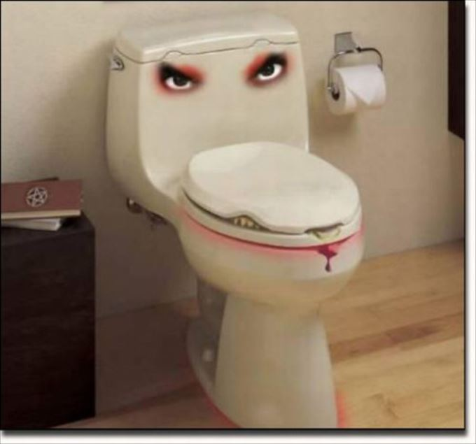 世界の変わったトイレ77