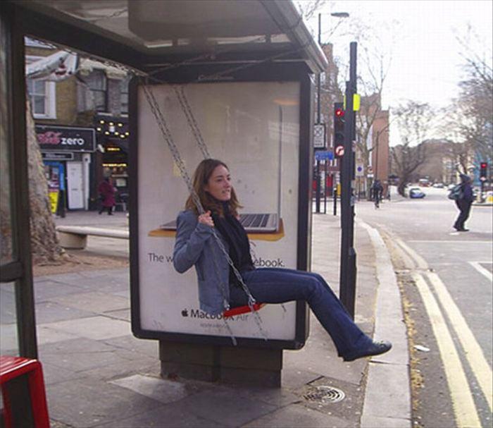 変わったバス停 11