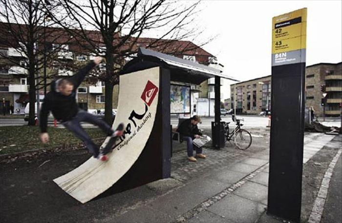 変わったバス停 13