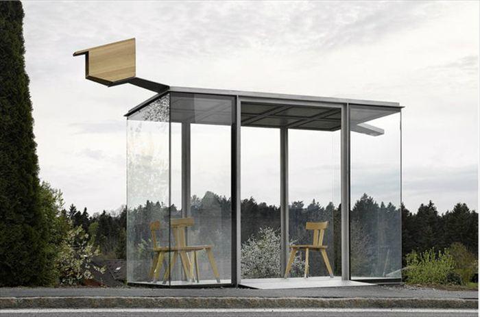 変わったバス停 19