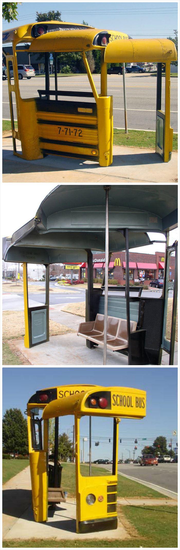変わったバス停 2.5
