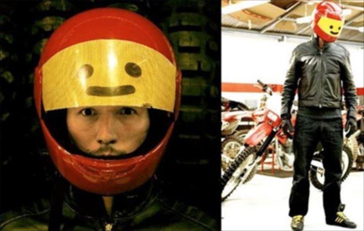 変わったヘルメット27