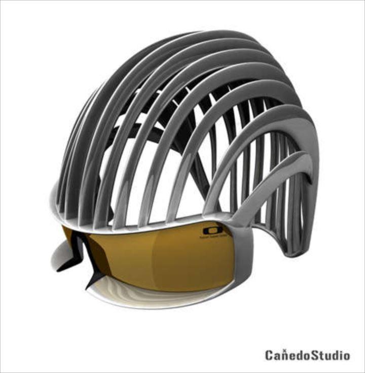 変わったヘルメット5