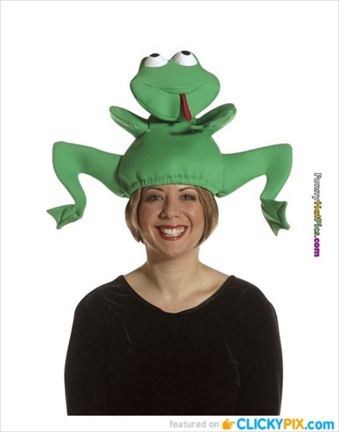変わった帽子102