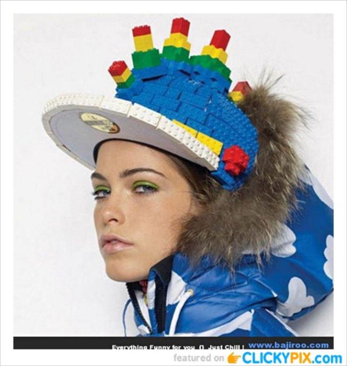 変わった帽子107