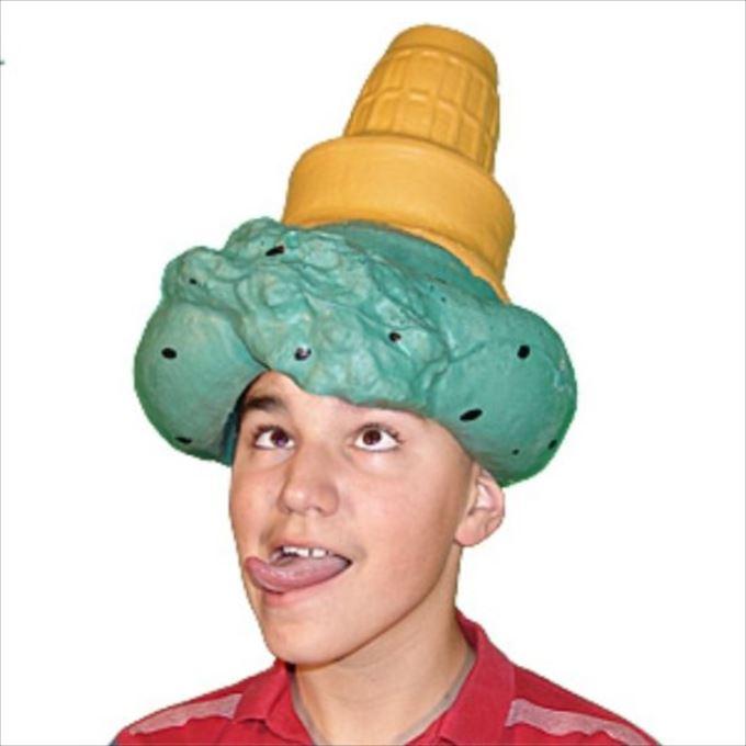 変わった帽子116